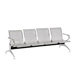 sillas de espera metalica de 4 puestos