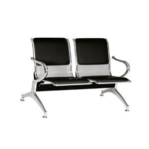 sillas de espera 2 puestos tapizado