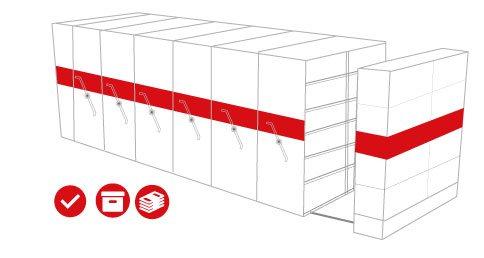 Archivo Rodante Para Oficina Industrias Cruz Centro