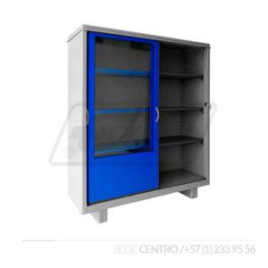Biblioteca Corriente Gris Azul Industrias Cruz Centro