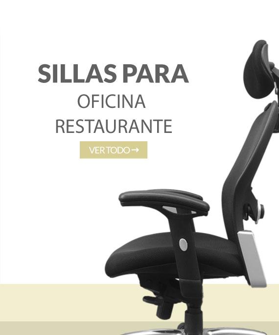 Sillas para oficinas y restaurante Industrias Cruz