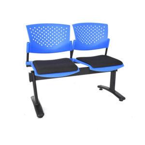sillas de espera butterfly 2 puestos ptapizada